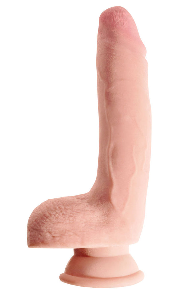 "King Cock Plus Triple Density 9"" Cock With Balls"