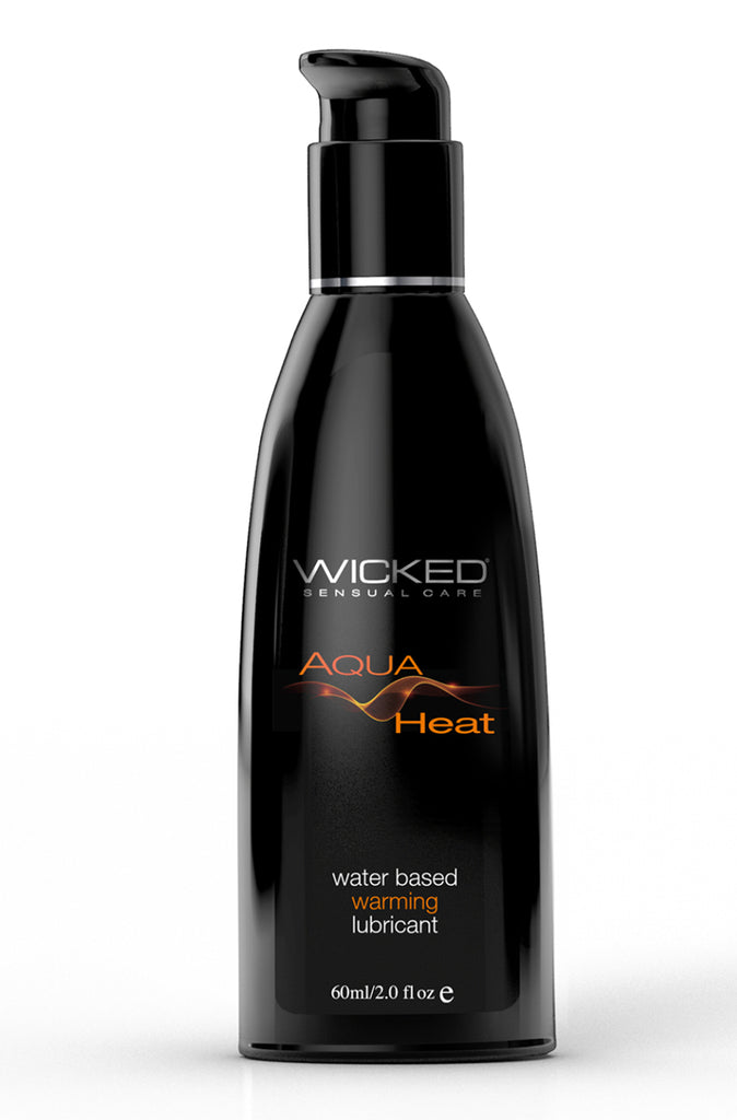 Wicked Aqua Heat Water Based Warming Lubricant