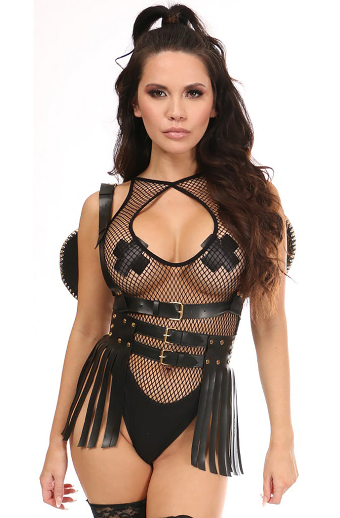 2 PC Dark Angel Wing and Skirt Set