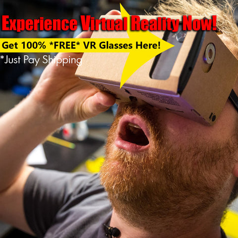 *FREE TODAY* High Quality Cardboard Virtual Reality 3D Glasses - Virtual Realiteaz - 1