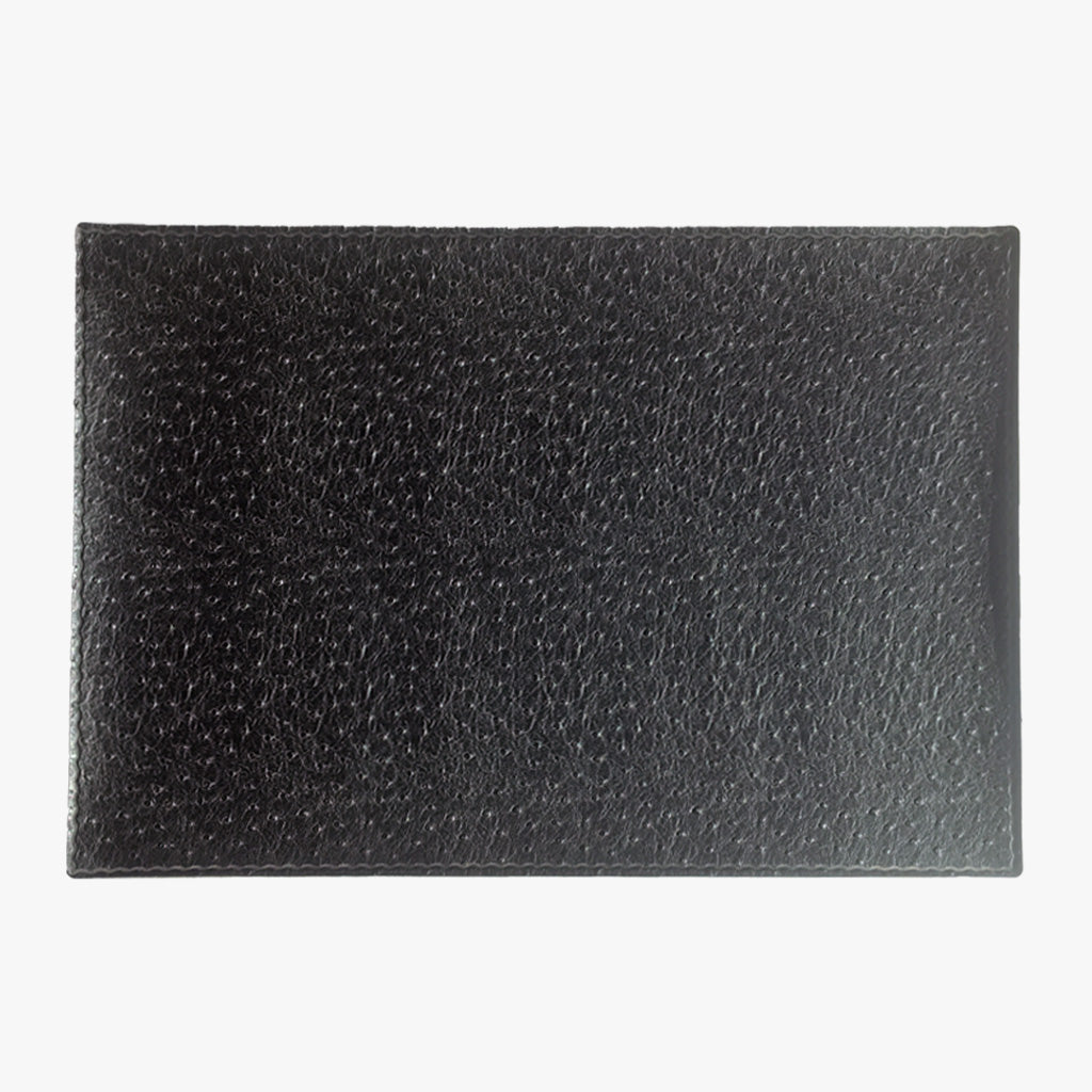 Ostrich Faux Leather Placemat