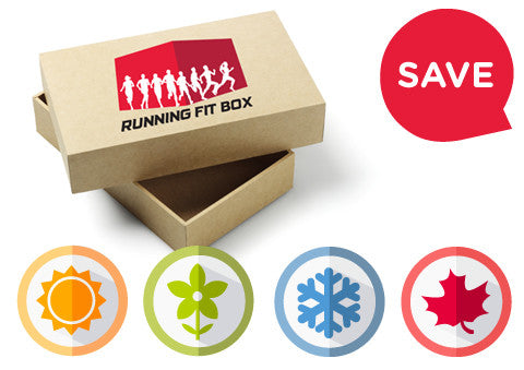 Yearly Running Fit Box subscription