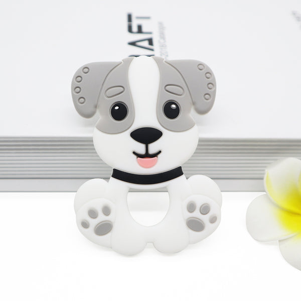 Silicone Teether - Dog