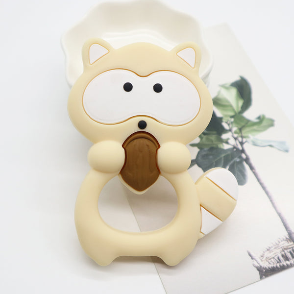 Silicone Teether - Raccoon