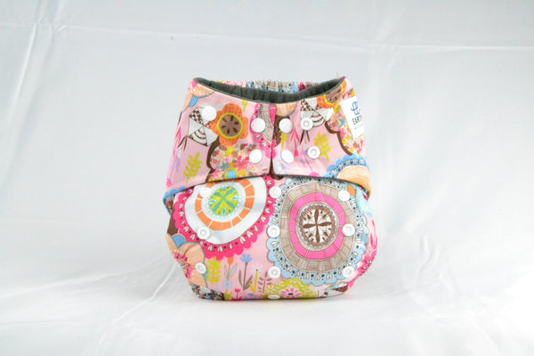 Earthlie Cloth Diaper - Boho