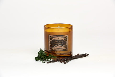 Cedar + Vanilla Fall Candle