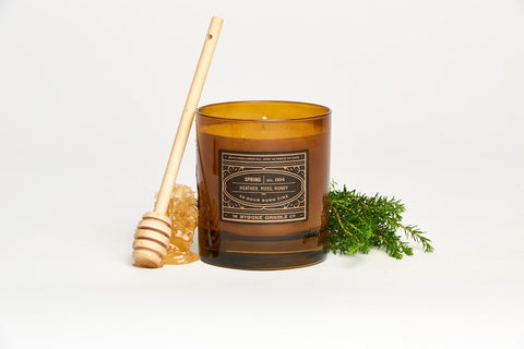 Heather + Honey Spring Candle