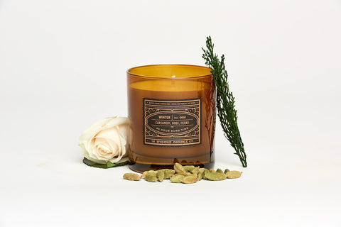 Cardamom + Rose Winter Candle