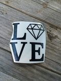 Diamond Love Decal