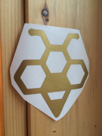 Bee Vinyl Decal