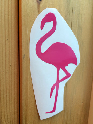 Flamingo Vinyl Decal