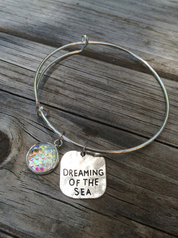Mermaid Dreaming of the sea bracelet