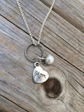 Pearl Mom Necklace