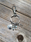 Mom Bow Keychain