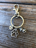 Dog Love Keychain