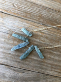 Kyanite Slices Necklace