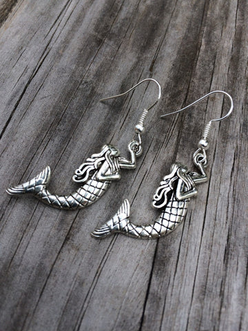 Simple Mermaid Earrings