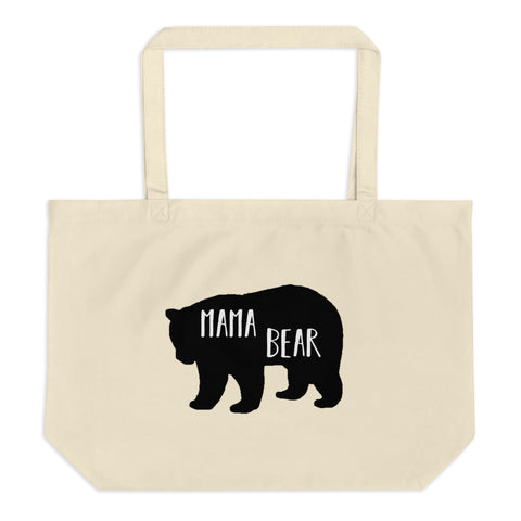 Mama Bear Large organic tote bag