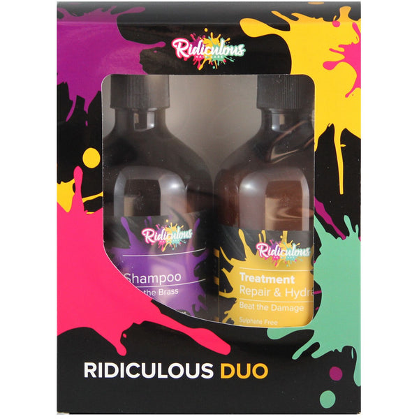 Ridiculous Haircare Duo 500ml (Blonde+Treatment)