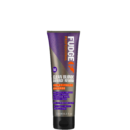 Fudge Clean Blonde Damage Rewind Shampoo 250ml
