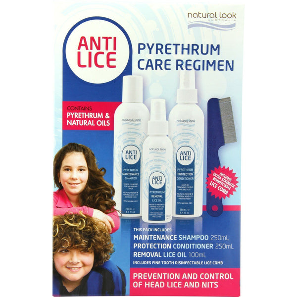 Natural Look Pyrethrum Care Regimen Pack