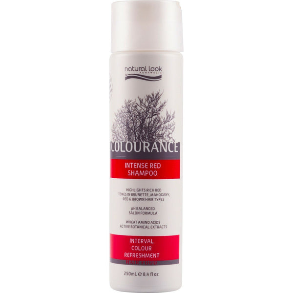 Natural Look Intense Red Shampoo 250ml