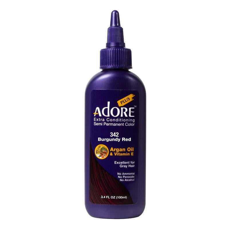 Adore Plus Burgundy Red #342 100ml