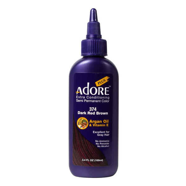 Adore Plus Dark Red Brown #374 100ml