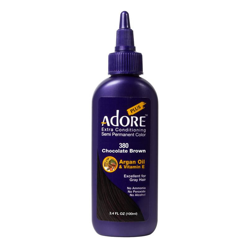 Adore Plus Chocolate Brown #380 100ml