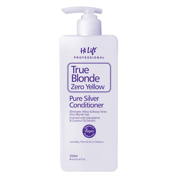 Hi Lift True Blonde Zero Yellow Pure Silver Conditioner 100% Vegan