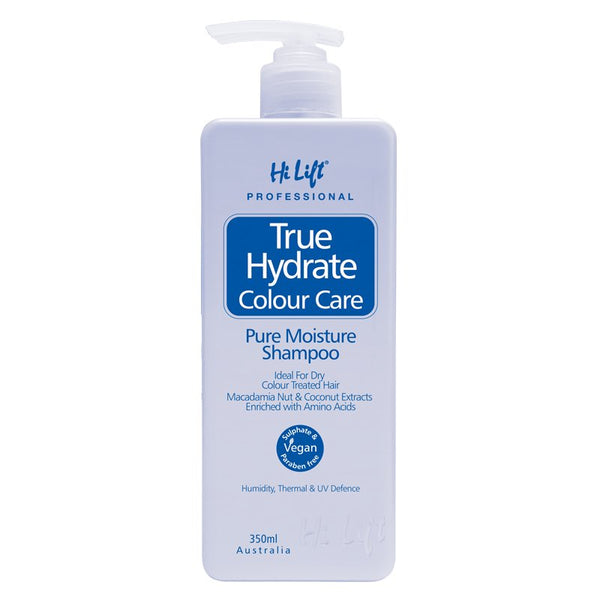 Hi Lift True Hydrate Nourish and Repair Shampoo 350ml 100% Vegan