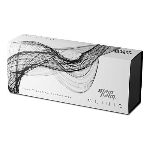 GlamPalm Clinic Diamond White - Hair Straightener