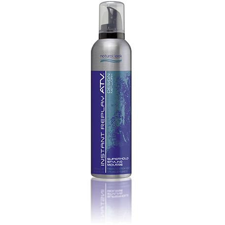 Natural Look Instant Replay Superhold Styling Mousse 250g