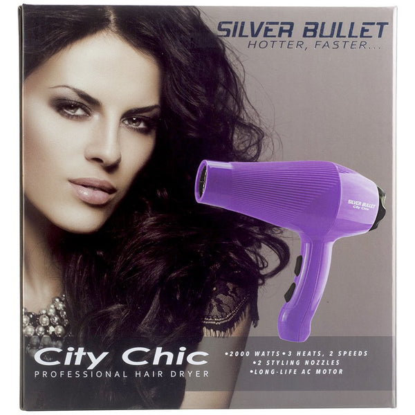 Silver Bullet City Chic Hair Dryer