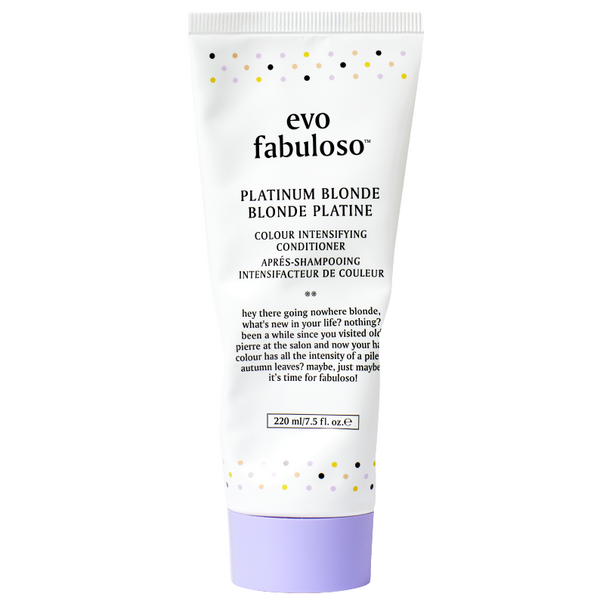 evo Fabuloso Platinum Blonde Colour Intensifying Conditioner 220ml