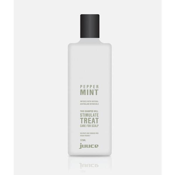 Juuce Peppermint Scalp Stimulating Shampoo 375ml