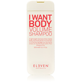 ELEVEN Volume Shampoo 300ml ***This product cannot be purchased through our website, however call 03 5441 3642 if you wish to purchase.