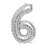 Number 6 Balloon