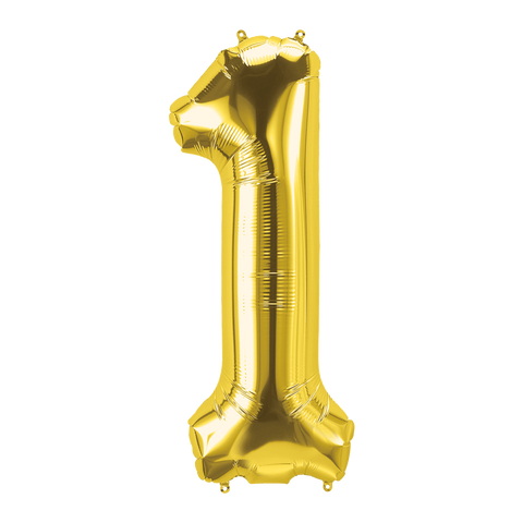 Number 1 Balloon