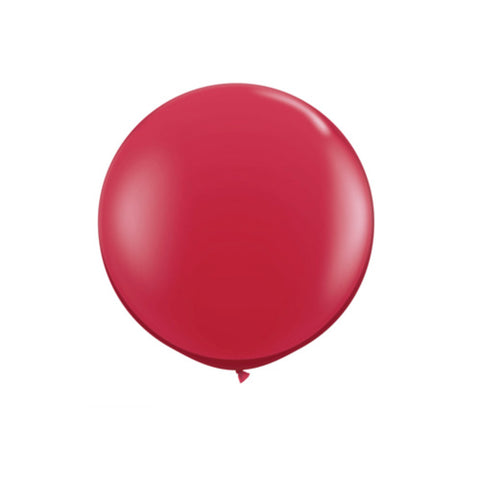 Giant Ruby Red Balloon