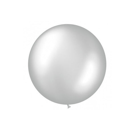 Giant Silver Balloon