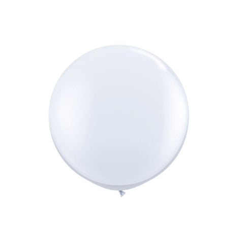 Giant White Balloon