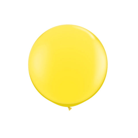 Giant Yellow Balloon