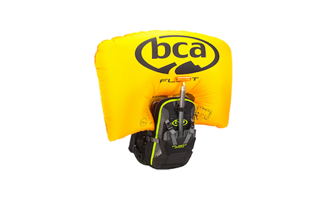 BCA FLOAT MTNPRO VEST BLACK/YELLOW XL/XXL AVALANCHE AIRBAG