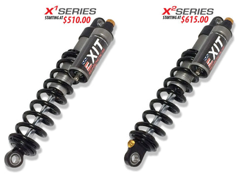 Zbroz EXIT Rear Track Shock - Polaris AXYS