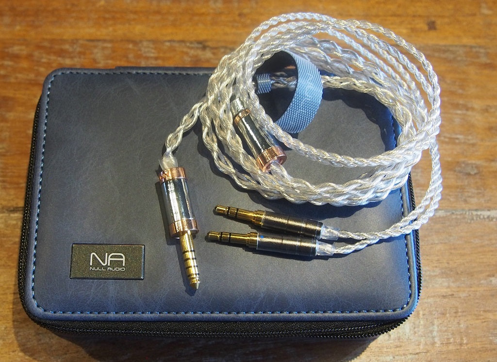 Balanced headphone cable, Null Audio