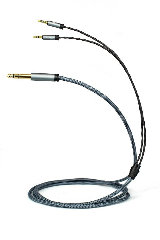 Asona 2m headphone cable for Hifiman and Focal
