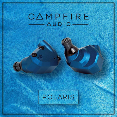 Campfire Audio Polaris 2, dual driver hybrid earphones