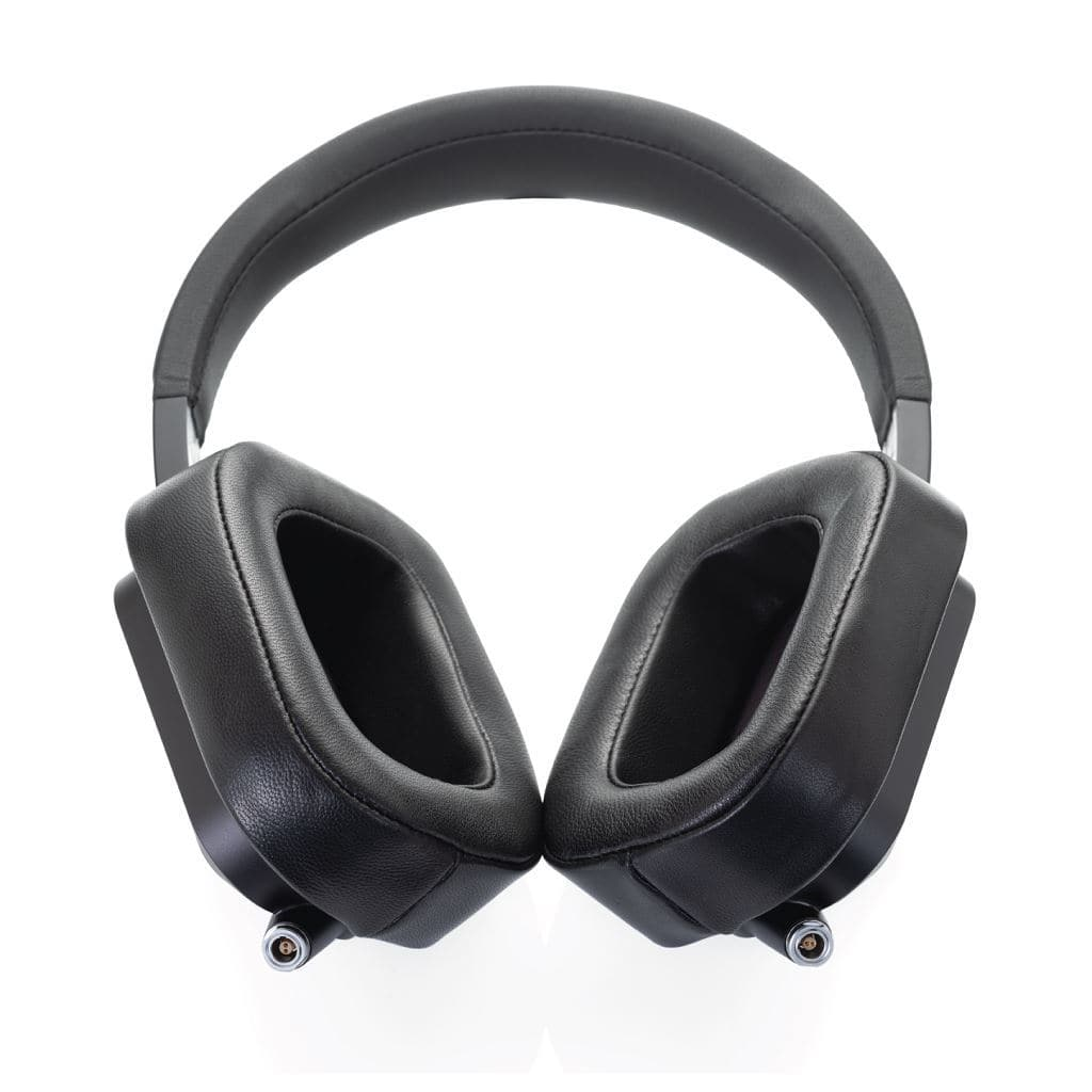 XL pads shown on cascade headphone, not included
