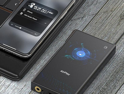 Fiio m11 pro with airplay for iphone, ipad